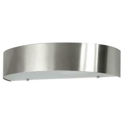 Ranex Leeds Matte Nickel Outdoor Wall Lamp IP44 Max.  20W E27 Without