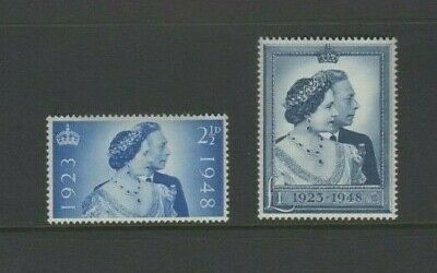 GVI 1948 Silver Jubilee Mint MNH Set - £1 Pound High Value