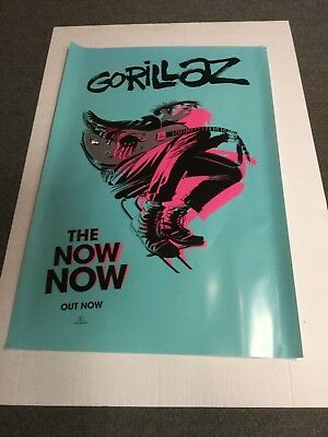 Our prints are all high quality professionally printed photographs on to premium quality 260gsm glossy. Gorillaz The Now Now Poster Official Promo Poster New 7 99 Picclick Uk