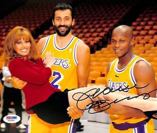 Lakers Jeanie Buss Sexy Authentic Signed X Photo Autographed