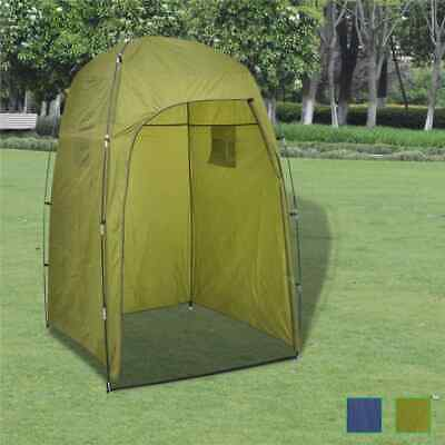 Shower tent, toilet tent, changing tent, side tent, storage tent, camping blue / green