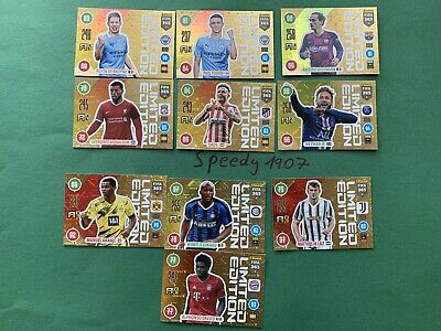 Panini Adrenalyn 2021 FIFA 21 all 10 Limited Edition Neymar Davies Adrenalyn 365