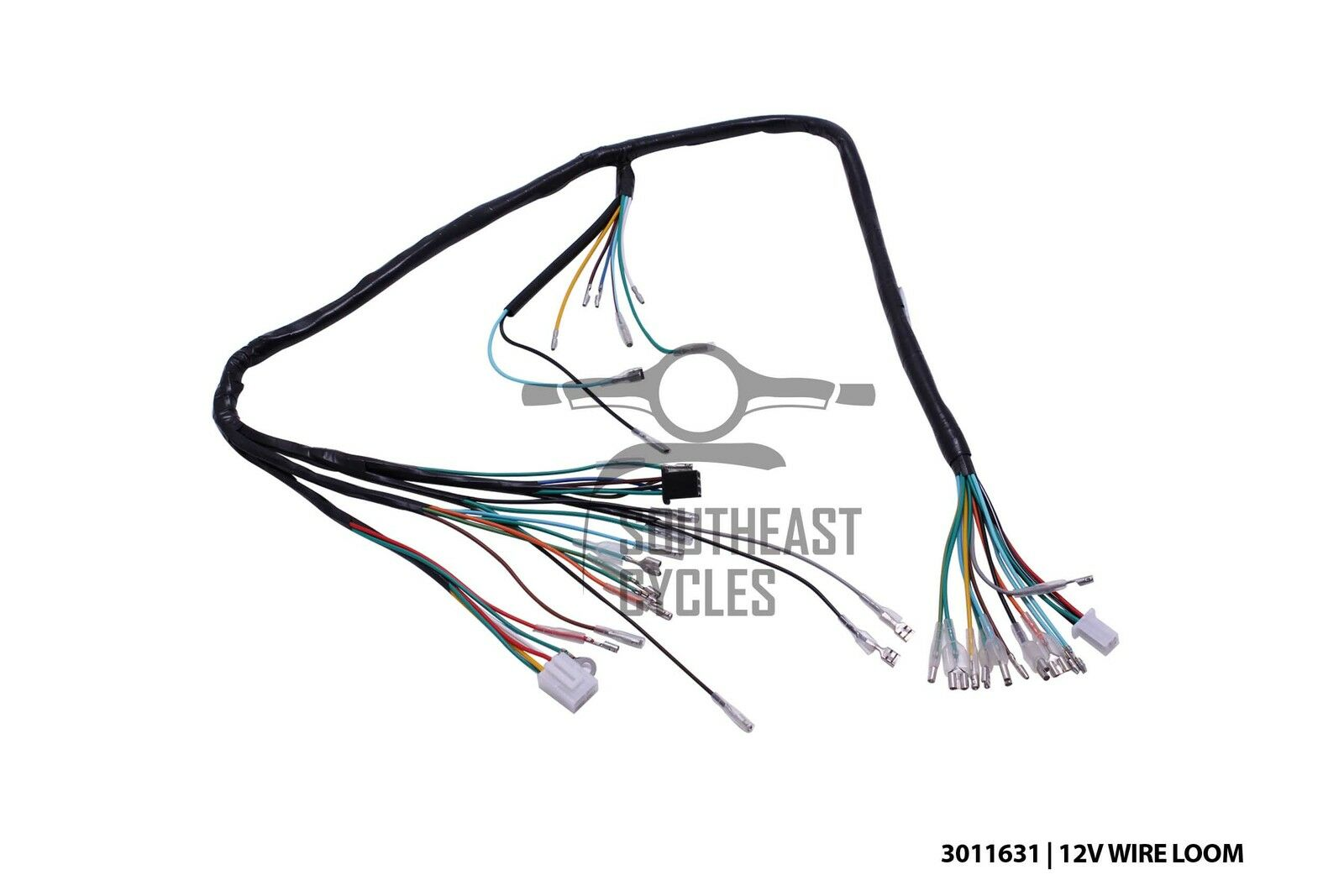 12v Complete Wire Harness Loom For Honda Cub C50 C70 Passport C90 12v Cdi