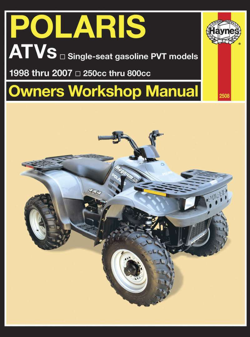 Haynes Service Manual Polaris Sportsman 500 Ho High Output 2001