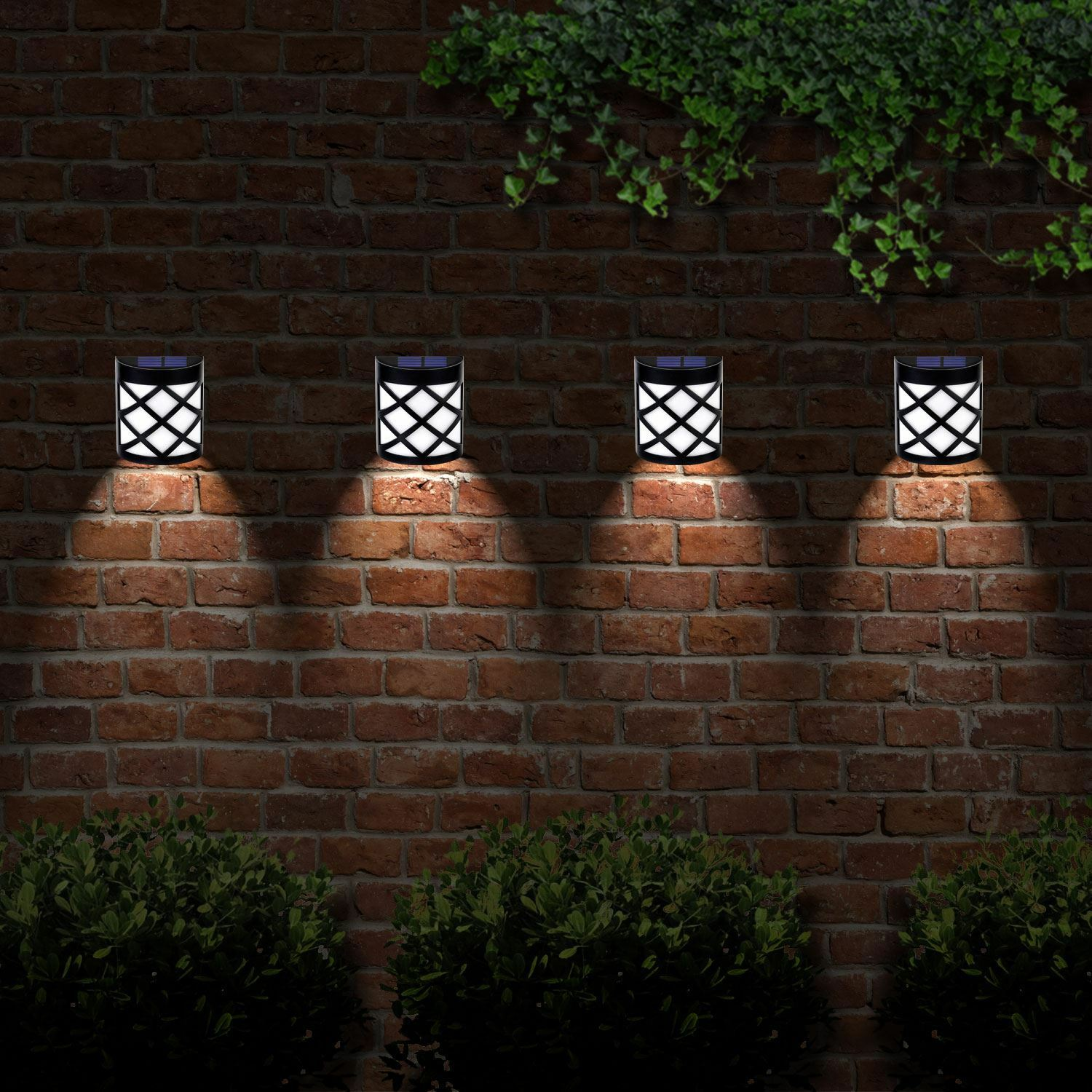 Solar Gate Lights