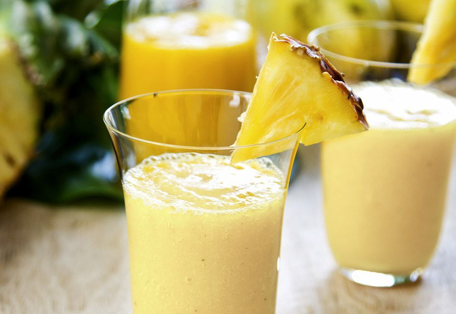 Smoothie ananas e ginger