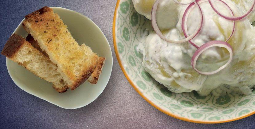 Insalata di patate allo yogurt