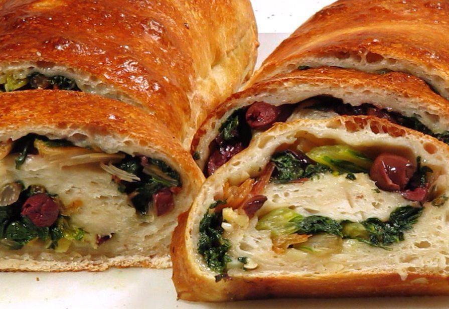 Verdure in crosta di pane