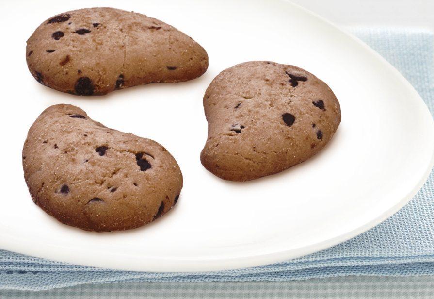 Biscotti gocciole al cioccolato