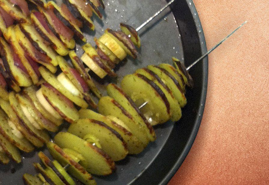 Spiedini di patate
