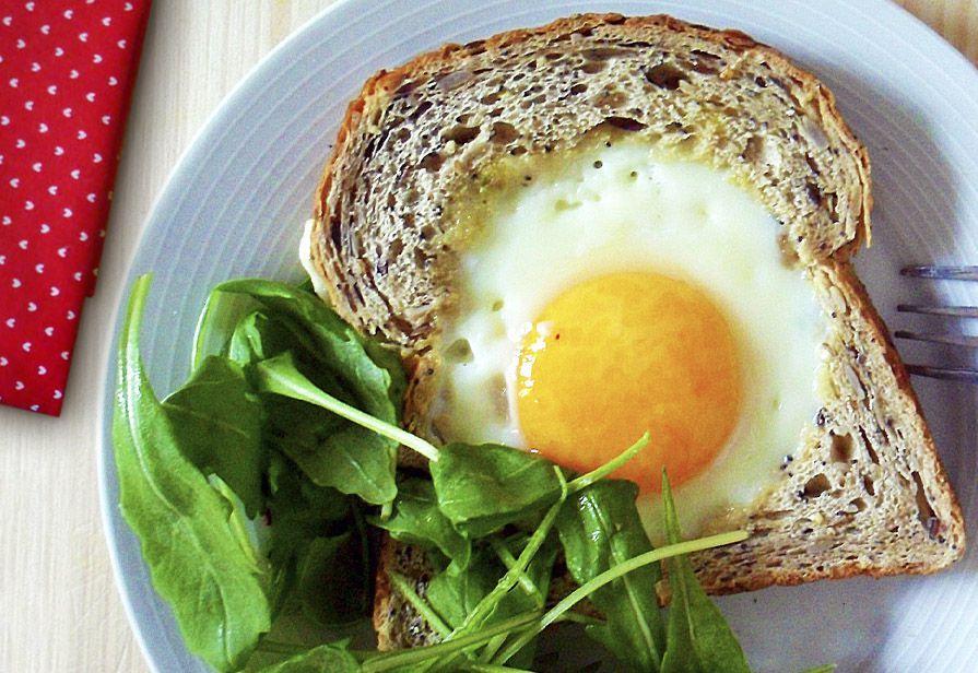Uovo nel pane