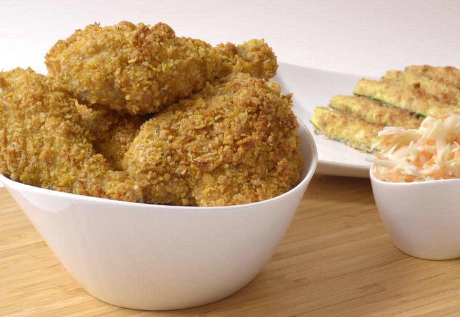 Pollo finto fritto
