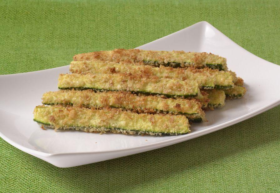 Zucchine croccanti in forno