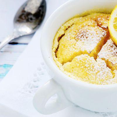 Mug cake al limone