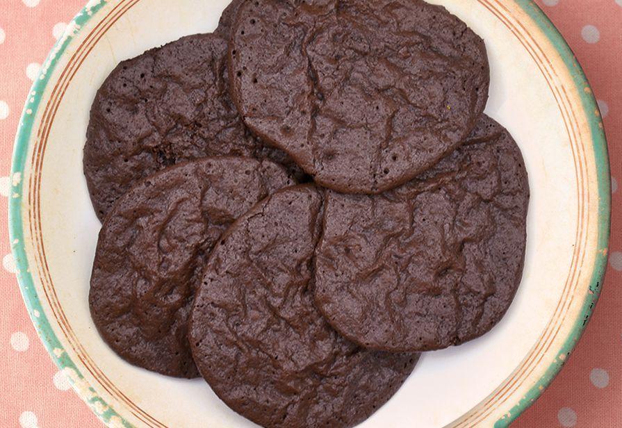 Choco Meringue cookies