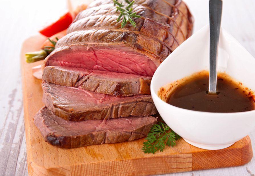Roastbeef alla salsa di soia
