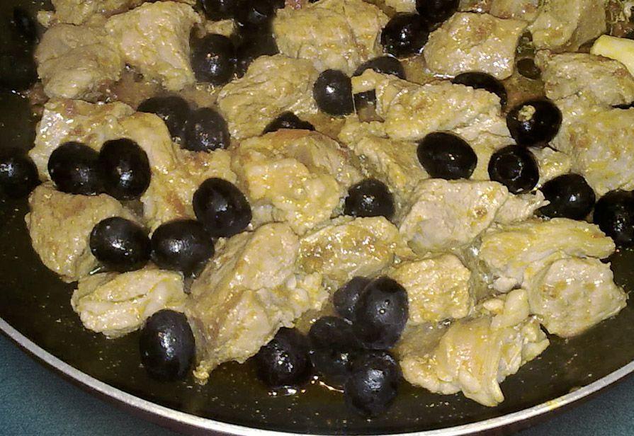 Spezzatino di vitella con olive