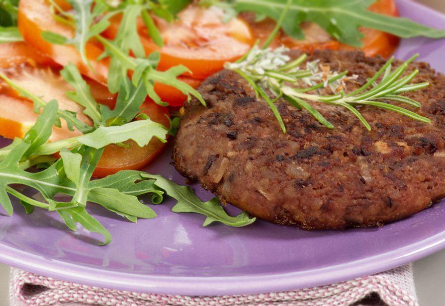 Vegan burger deliziosi