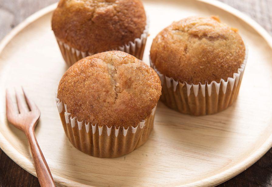Muffin integrali al miele