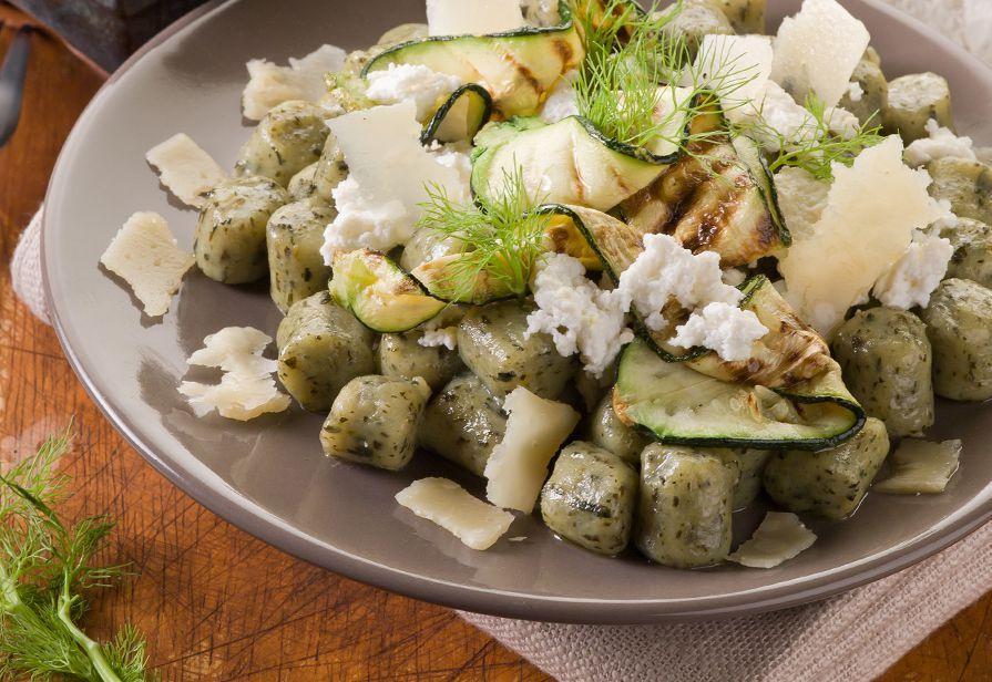 Gnocchi verdi alle zucchine