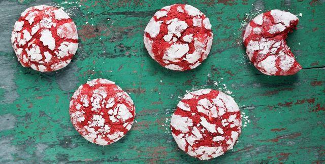 Red velvet crincles