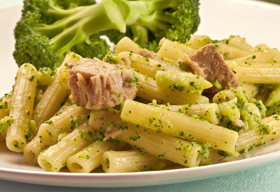 Sedani al tonno e broccoli