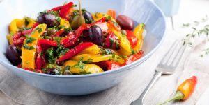 Insalata fresca di peperoni