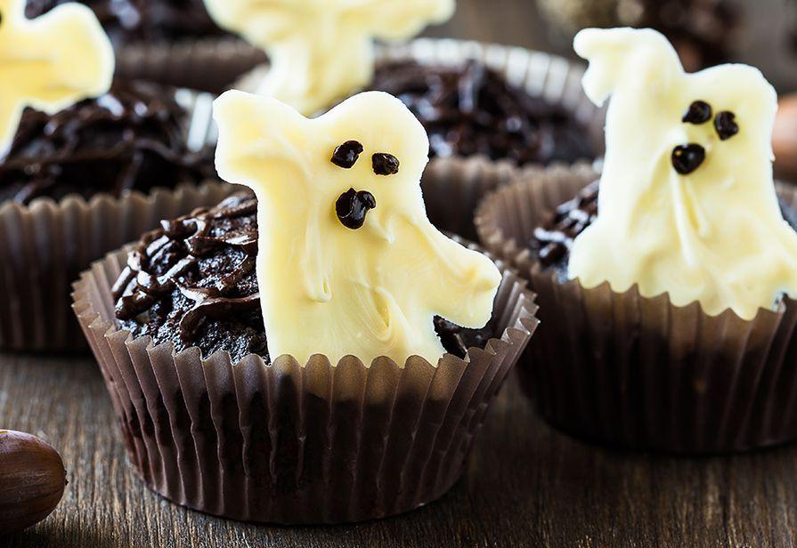 Muffin fantasma di Halloween
