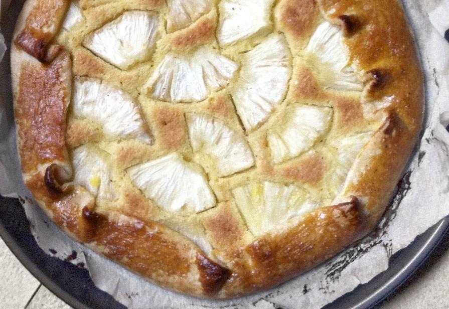 Torta ananas e frangipane