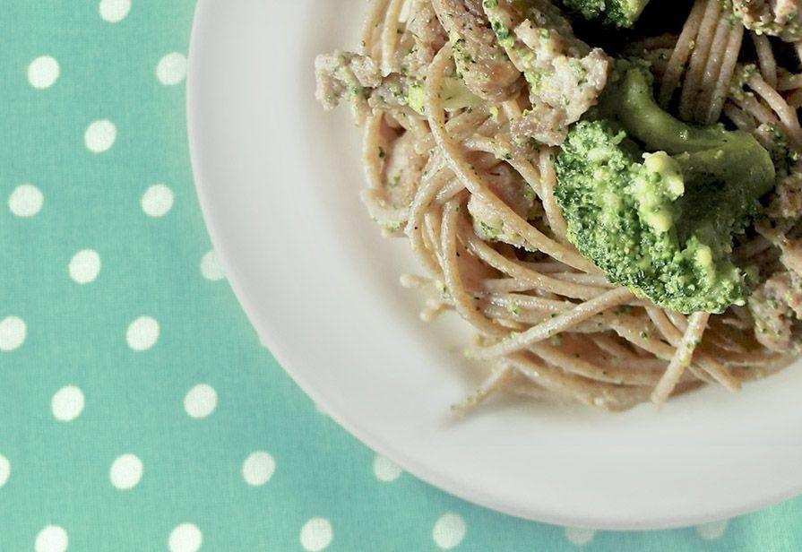 Spaghetti salsiccia e broccoli
