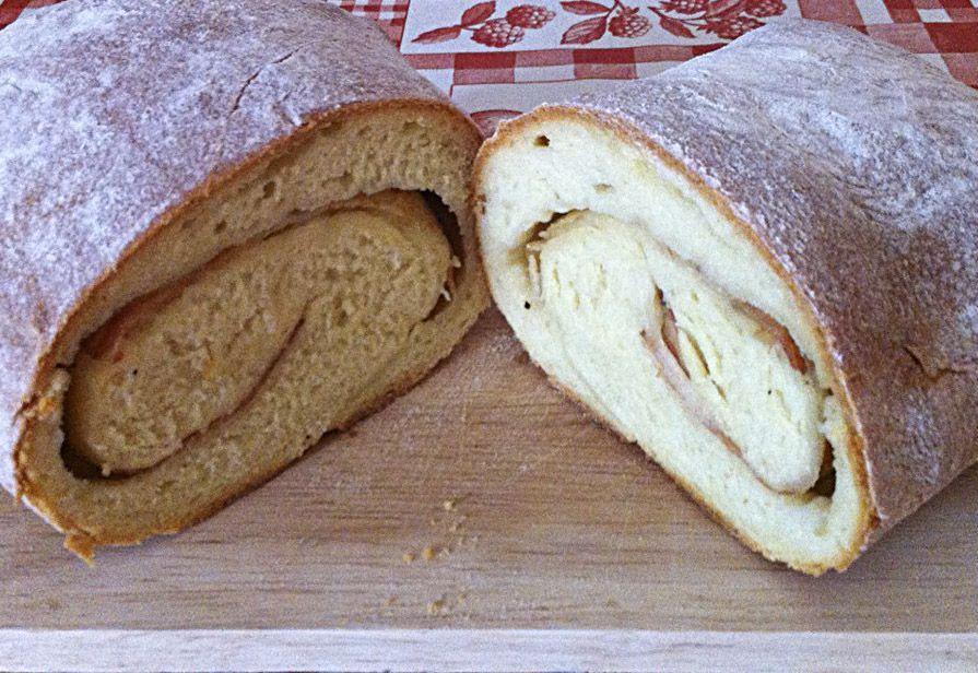 Pane con lardo