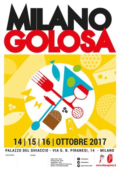La locandina di Milano Golosa 2017