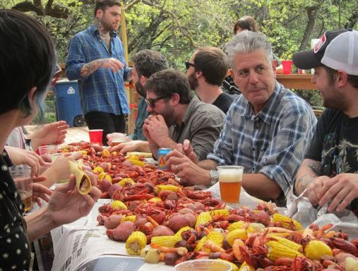 Anthony Bourdain in No Reservation