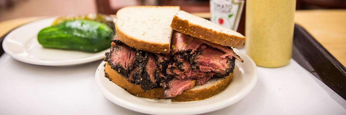 Sandwich al Pastrami
