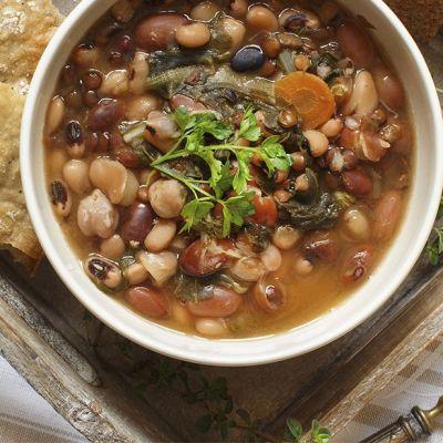Zuppa di legumi misti