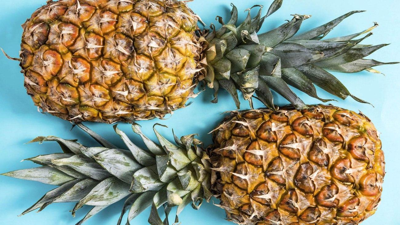 Ingrediente di gennaio ananas