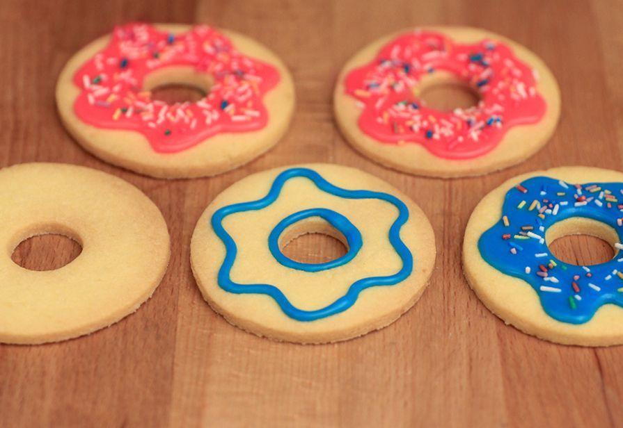 Biscotti donuts