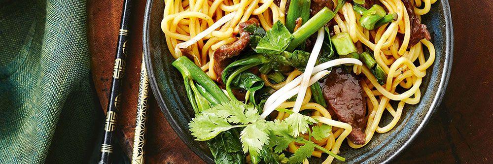 Noodles della longevità
