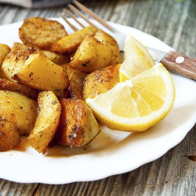 Patate al forno al limone