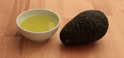Olio di avocado