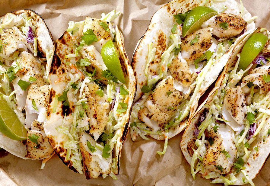 Tacos di merluzzo