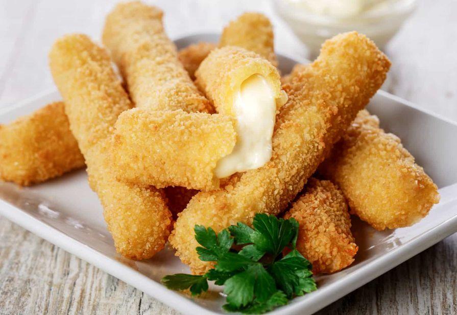 Bastoncini di mozzarella