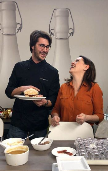 Sonia Peronaci e Riccardo Soncini di Panino Giusto