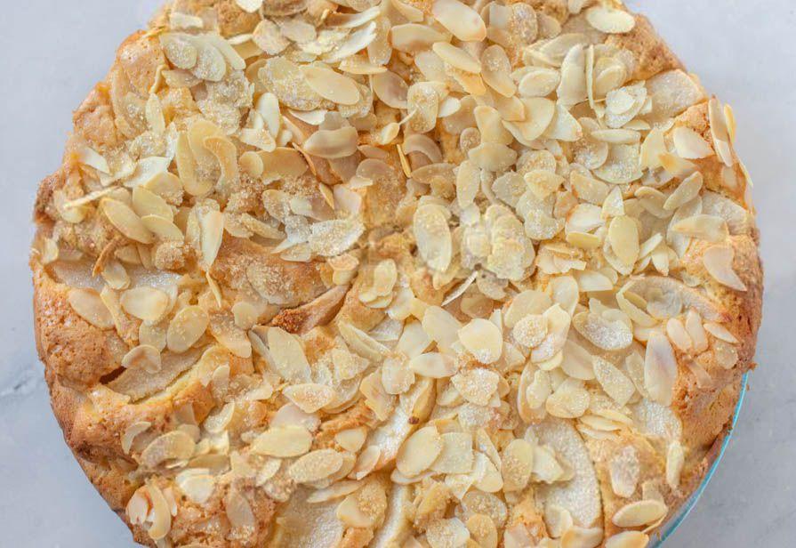Torta di riso alle mandorle