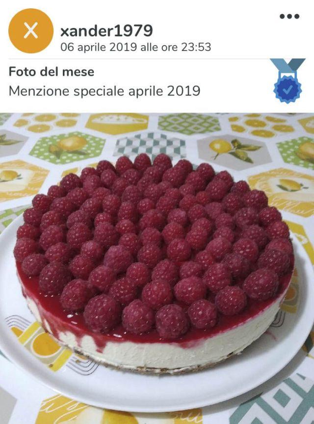 Menzione speciale aprile 2019