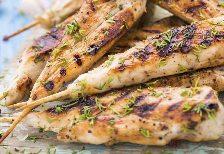 Bastoncini di pollo aromatici