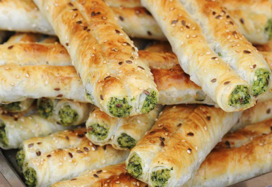 Sigari ricotta e spinaci