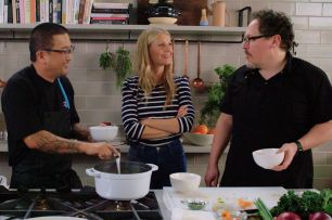 The chef show Gwyneth Paltrow