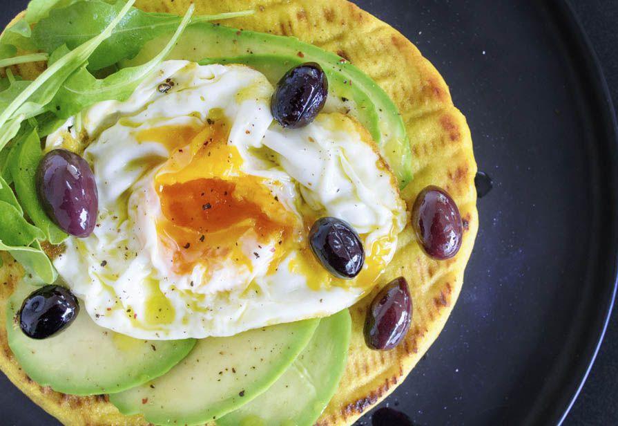 Tortilla all'uovo