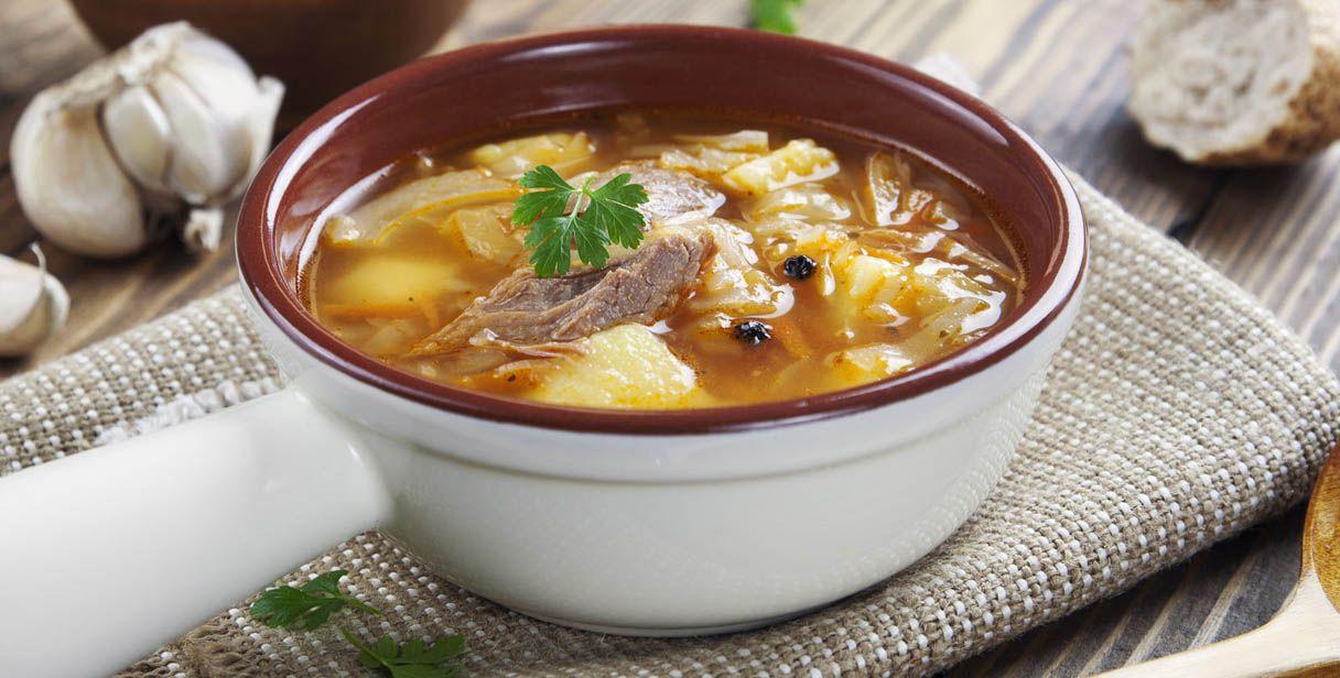 zuppa di verdure con dieta di cavolo